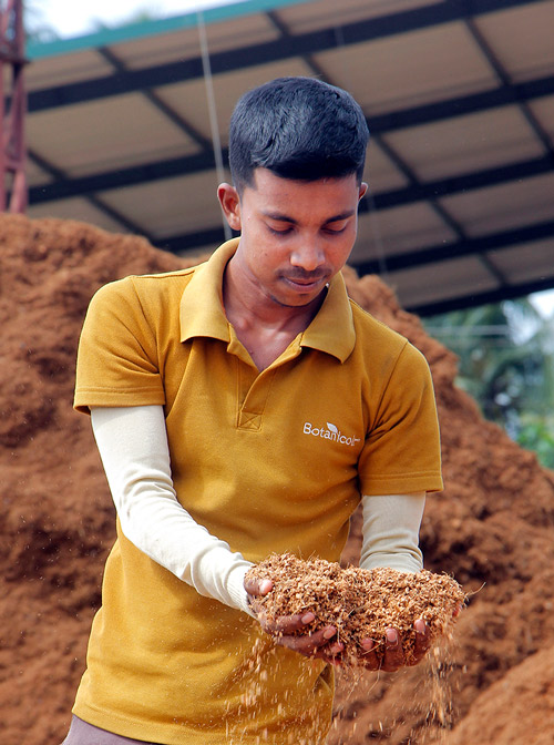 Coir Quality Control Worker